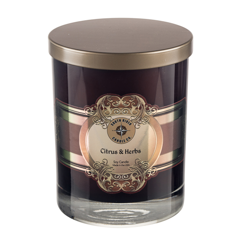 Wholesale Exotic Wood & Cardamom Luxury Candle