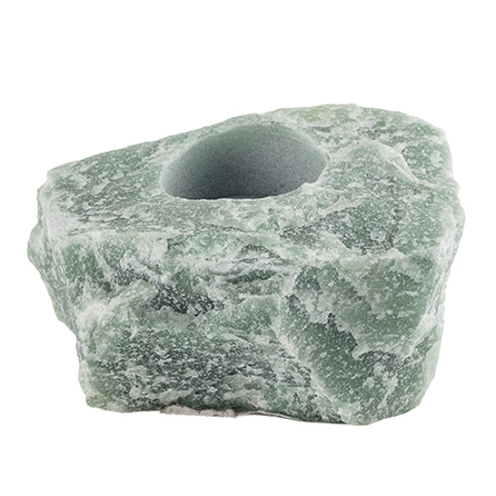 6 Wholesale Green Aventurine Tealight Candle Holder