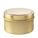 Private Label Gold Travel Tin Candles