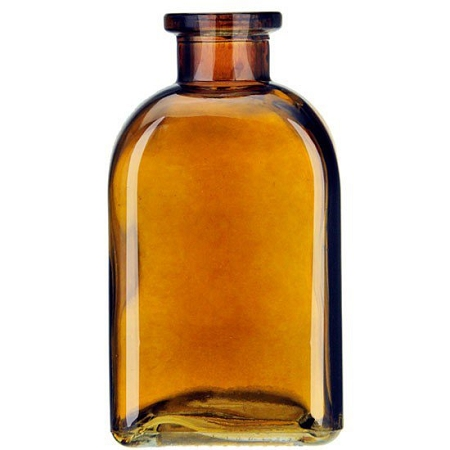e7ccbd8f43525 36 - 8.5oz Roma Recycled Amber Glass Bottle with 2 Corks