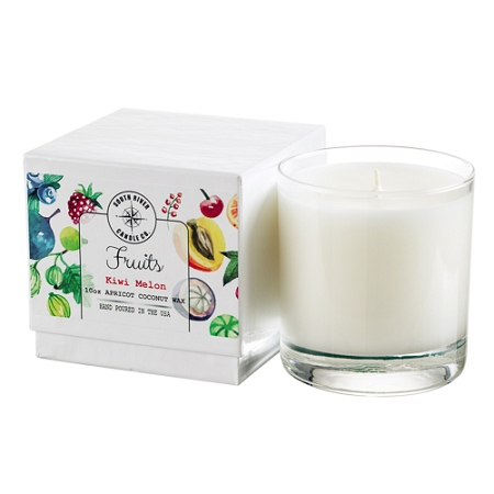 Fruits Collection - 10 oz Tumbler Jars in White Box - 6 Scented Candles
