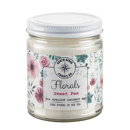 Florals Collection - 9 oz Straight Side Jars - 6 Candles to Case