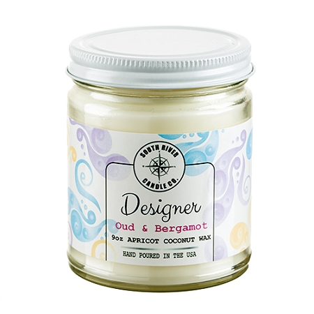 Designer Collection - 9 oz Straight Side Jars - 6 Candles to Case