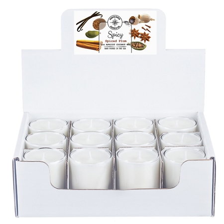 Spicy Collection - 3 oz Tumbler Jars - 12 Pack Display Box