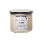 Wholesale Amethyst 3 Wick Crystal Candle
