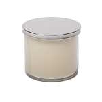 Private Label Clear 18oz Tumbler - 3 Wick with Silver Lid - 6 Candles Per Order