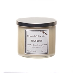 Wholesale Tiger Eye Crystal - PROSPERITY - Energy Candle - Jumbo 18 Ounce 3 Wick