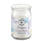 Designer Collection - 18 oz Apothecary Jar - 6 Scented Candles