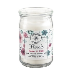 Wholesale Floral Collection in 18 oz Apothecary Jar