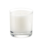 Private Label 11 oz Clear Glass Tumbler - Optional Box - 12 Candles Per Order