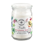 Fruits Collection - 18 oz Apothecary Jar - 6 Scented Candles