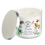 Fruits Collection - 18 oz 3 Wick Tumbler Jar - 6 Scented Candles