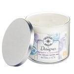 Designer Collection - 18 oz 3 Wick Tumbler Jar - 6 Scented Candles