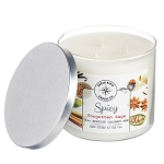 Spicy Collection - 18 oz 3 Wick Tumbler Jar - 6 Scented Candles