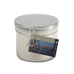 Hand Poured Scented Soy 3 Wick 18oz Jars - Silver Metal Lid Case of 6