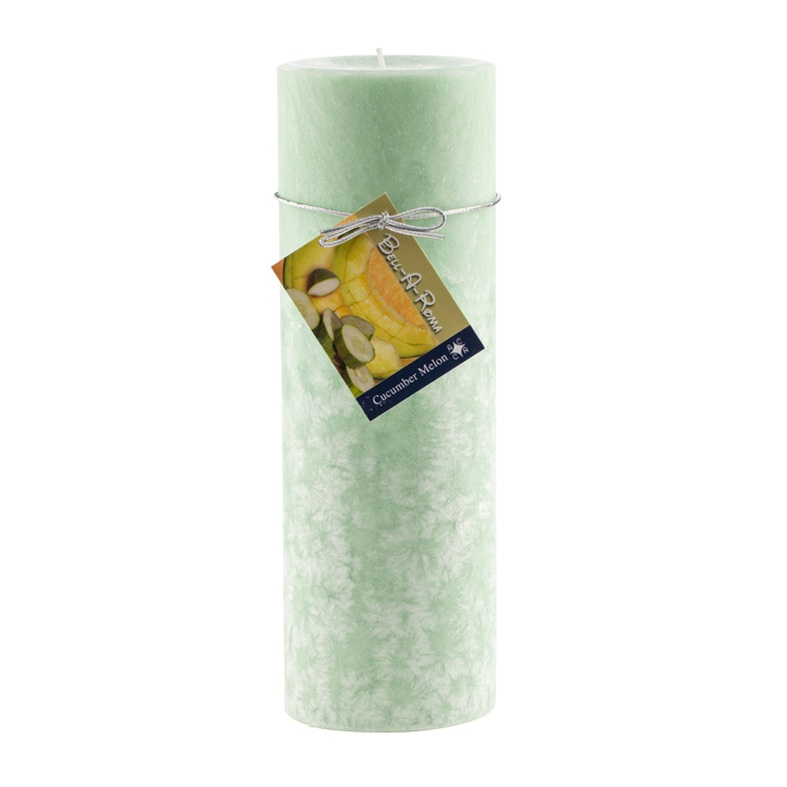 Wholesale 3x9 Scented Natural Wax Pillar Candles Case of 12