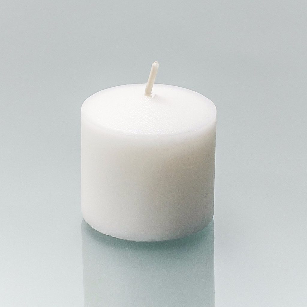 288 Wholesale 10 Hour White Votive Candles - Soy Blend Wax