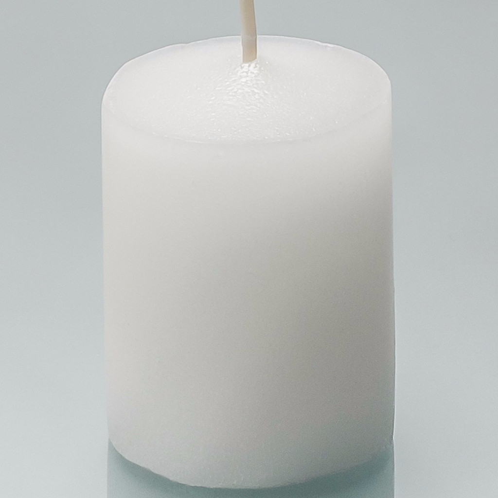 144 White Votive Candles - 15 hour - Soy Blend