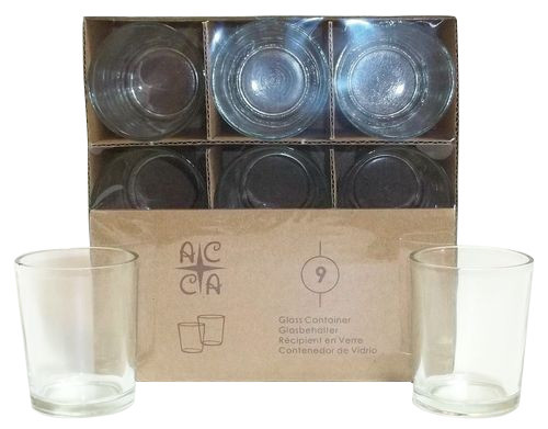 24 Packs of 9 Votive Candleholders - 216 Holders