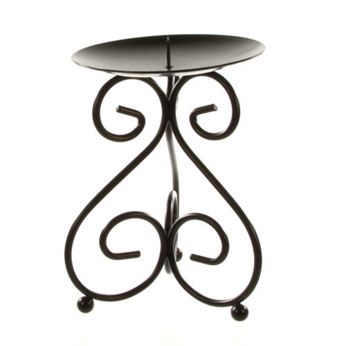 48 Pillar Candle Stands - Black Pillar Candle Holders