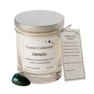 Wholesale Bloodstone Crystal - STRENGTH - 13oz Classic