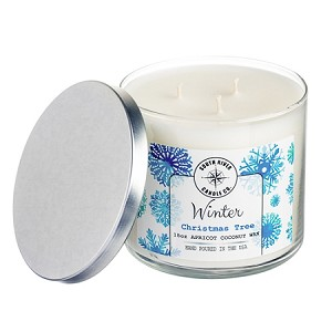 Winter Collection - 18 oz 3 Wick Tumbler Jar - 6 Scented Candles