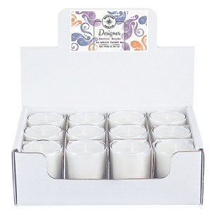 Designer Collection - 3 oz Tumbler Jars - 12 Pack Display Box