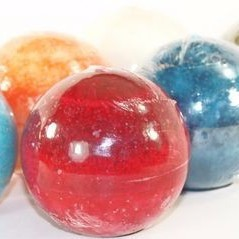 24 Mottled 3 Inch Ball Candles - 6 Fragrances - Closeout