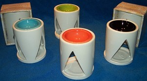 48 Gift Boxed Triangle Tart Warmers - 4 Colors